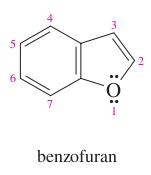 benzene + furan =