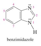 benzene + imidazole =