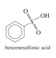 Name the derivative of benzene in the image.
