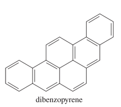 Name the six-ringed polynuclear aromatic hydrocarbon.